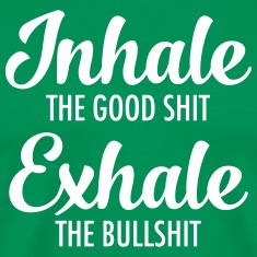 Inhale - Exhale T-Shirts