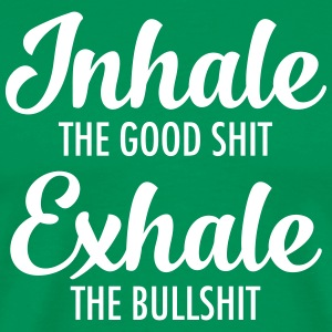 Inhale - Exhale T-Shirts - Men's Premium T-Shirt