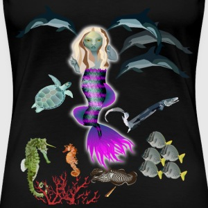 mermaid T-Shirts - Women's Premium T-Shirt