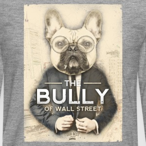 The Bully of Wall Street Long sleeve shirts - Men's Premium Longsleeve Shirt