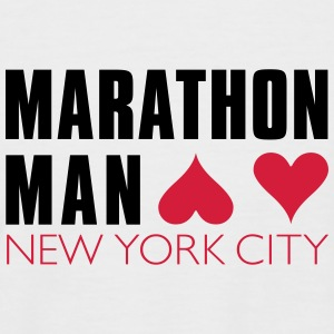 Marathon Man New York - Men's Baseball T-Shirt