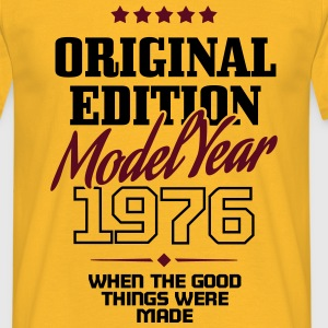 Original Edition Model Year 1976 T-shirts - Mannen T-shirt