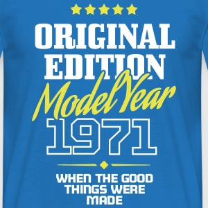 Original Edition Model Year 1971 Tee shirts - T-shirt Homme