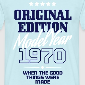 Original Edition Model Year 1970 T-Shirts - Men's T-Shirt