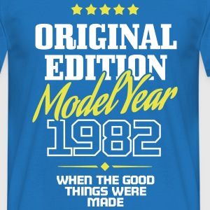 Original Edition Model Year 1982 Tee shirts - T-shirt Homme