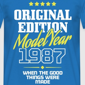 Original Edition Model Year 1987 T-Shirts - Männer T-Shirt