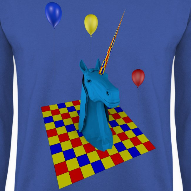 sudadera hombre unicornio party