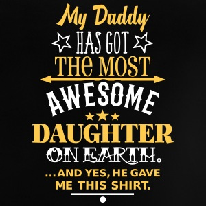 Daddys Awesome Daughter Baby T-Shirts - Baby T-Shirt