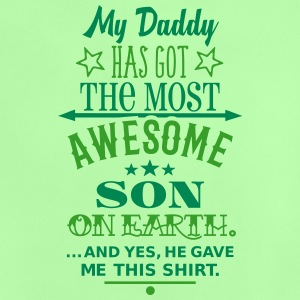 Daddys Awesome Son Baby T-Shirts - Baby T-Shirt