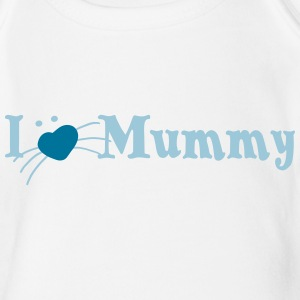 i love mummy Baby Bodys - Baby Bio-Kurzarm-Body