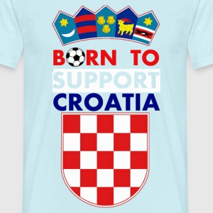 support Croatia - T-shirt Homme