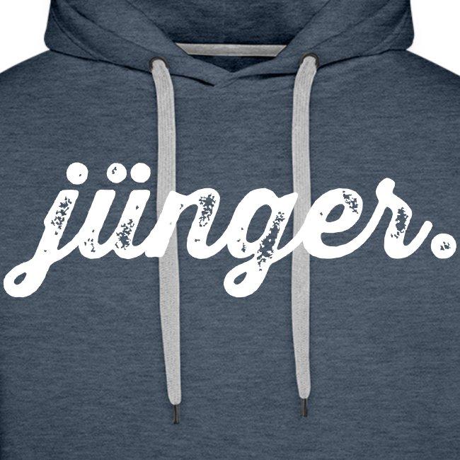 """Hoodie Jungs """"jünger."""""""