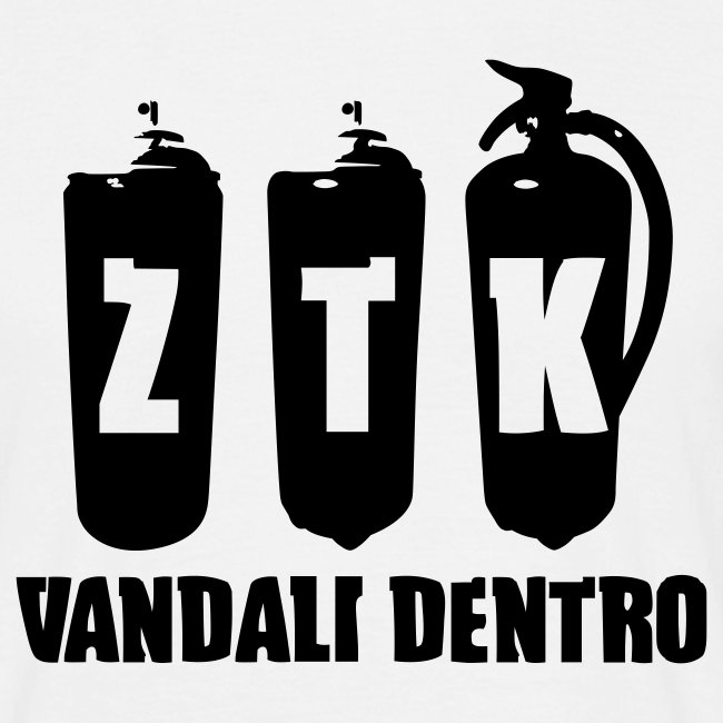 ZTK Spray-Extinguisher T-Shirt