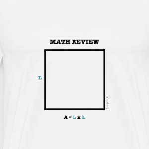 math review-square - Men's Premium T-Shirt