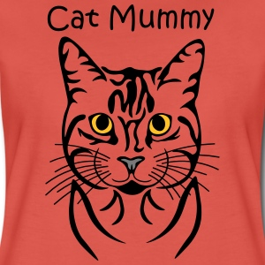 Cat-Mummy T-Shirts - Frauen Premium T-Shirt