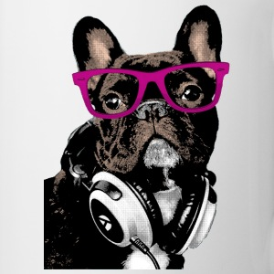 AD Hipster Frenchie Tazze & Accessori - Tazza
