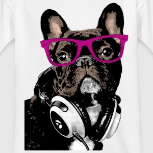 AD Hipster Frenchie Shirts - Teenage T-shirt