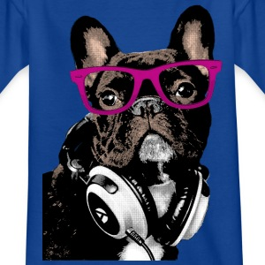 AD Hipster Frenchie Tee shirts - T-shirt Enfant