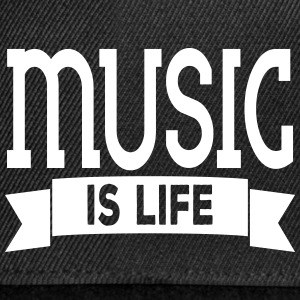 music is life Caps & Hats - Snapback Cap