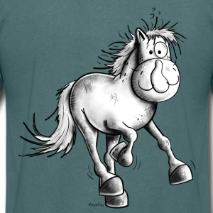Mignon Cheval Tee shirts - T-shirt Homme col V