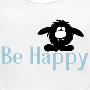 Be Happy Monster Baby Lätzchen - Baby Bio-Lätzchen