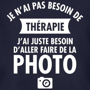 Thérapie - Faire De La Photo Tee shirts - T-shirt bio Homme