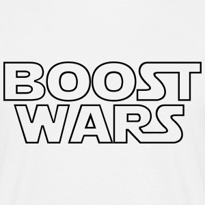 Boost Wars in White - Männer T-Shirt