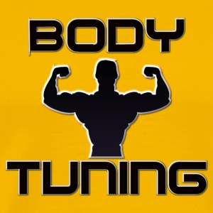 Body Tuning - Bodybuilder - Männer Premium T-Shirt