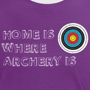 Archery home T-Shirts - Frauen Kontrast-T-Shirt