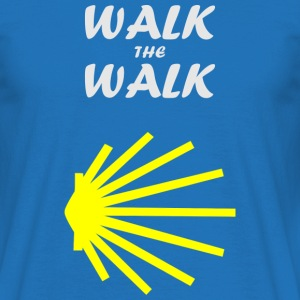 Walk the Walk - Camino de Santiago - Men's T-Shirt