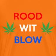 Ontwerp ~ Rood Wit Blow Koningsdag T-shirt