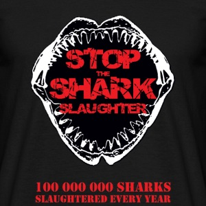 Stop the Shark Slaughter - T-shirt Homme