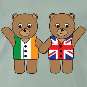 UK Ireland Bears.png T-Shirts - Men's Premium T-Shirt