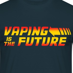 VAPING IS THE FUTURE - T-shirt Homme