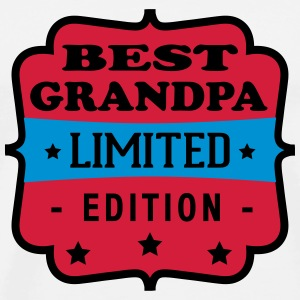 Best grandpa limited edition T-Shirts - Männer Premium T-Shirt