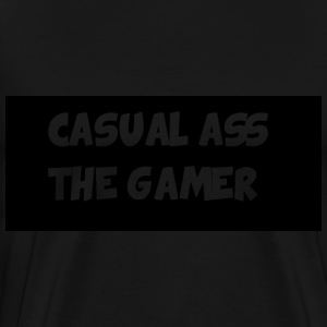 casual ass tshirt - Men's Premium T-Shirt