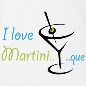 Body I Love Martini...que - Body Bébé