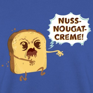 Zombie Toast: Nuss-Nougat-Creme Pullover & Hoodies - Männer Pullover