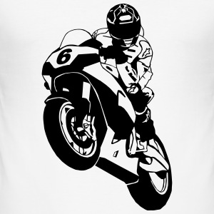 Superbike Motorcycle T-Shirts - Männer Slim Fit T-Shirt
