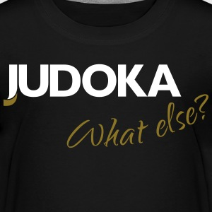 Judoka what else Teens weiß - gold - Teenager Premium T-Shirt