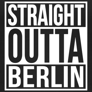 Straight Outta Berlin Hip Hop Rap Statement  Tops - Frauen Bio Tank Top