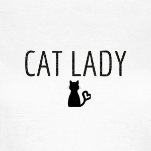Tee shirt Cat Lady - T-shirt Femme