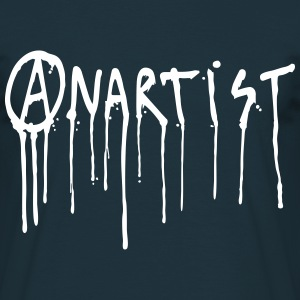ANARTIST = ANARCHIE + ART - T-shirt Homme