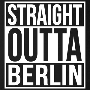 Straight Outta Berlin Hip Hop Rap Statement  Baby Bodys - Baby Bio-Kurzarm-Body