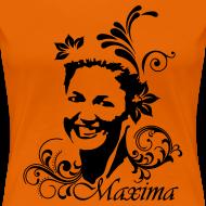 Ontwerp ~ Girlie dames shirt voor Koningsdag met Maxima opdruk
