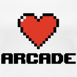 I love Arcade - Women's Premium T-Shirt