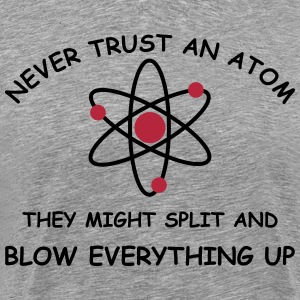 Atoms blow up 2 col T-Shirts - Men's Premium T-Shirt
