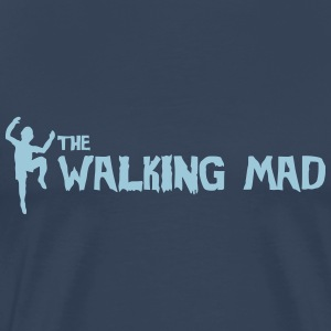 Mad Walking Man - Männer Premium T-Shirt