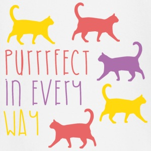 AD Purrfect in every way Baby Langarmshirts - Baby Langarmshirt
