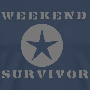 Weekend Survivor - Männer Premium T-Shirt